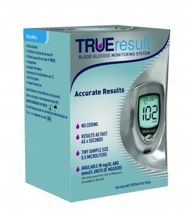 Sistema de monitoreo de glucosa en sangre TRUEresult